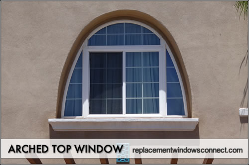 Arched window pictures view photos and images for Arch window replacement
