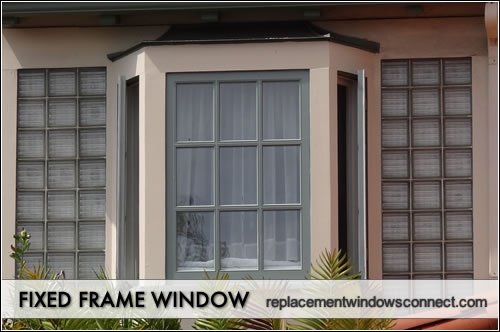 fixed-frame window