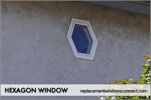 hexagon window