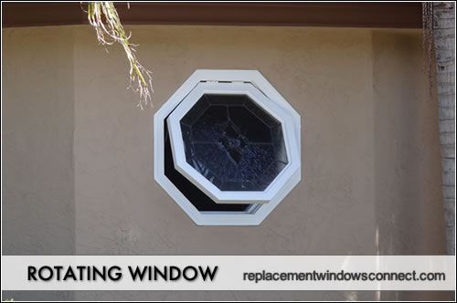 rotating window