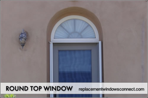 round top window